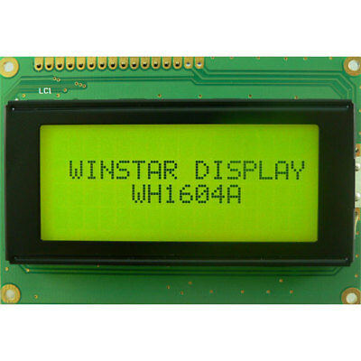 Winstar WH1604A-NYG-JT 16x4 LCD Display Reflective