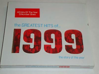 Various Artists - The Greatest Hits of 1999 (CD, 1999) Best Of The Year