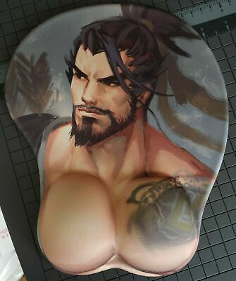 Exclusive 3D mouse Pad Wrist Rest Hanzo Overwatch - USA SELLER 3 Day Shipping