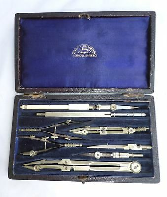 ​Albert Mallandain Cheapside London Drawing Instrument Set