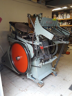 12x18 Kluge Letterpress/Die Cutter - Good Condition