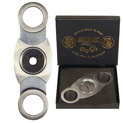2 Pack of Cuban Crafters Perfect Cigar Cutters for All Ring Gauges