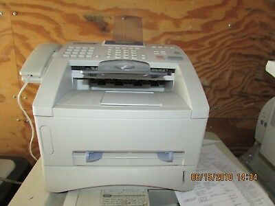 BrotherIntellifax 4750e Plain Paper Fax Inc. toner,works as a printer and copier