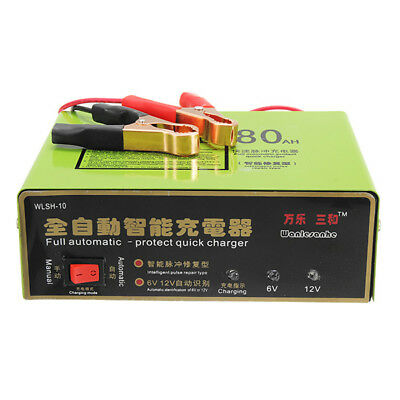 6V/12V 140W 80AH Smart Full Automatic-protect Quick Charger  Intelligent Pulse R