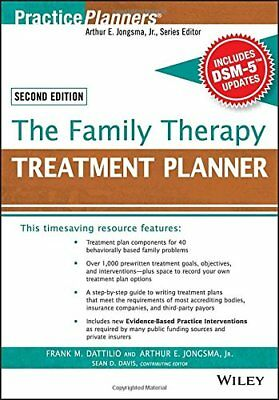 The Family Therapy Treatment Planner, with DSM-5 Updates, 2nd Edition (Practi…