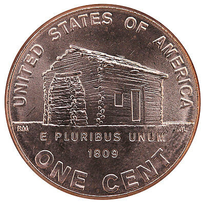 2009 D Cent Log Cabin Early Childhood #1 BU Penny US Coin