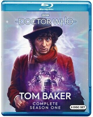 Doctor Who: Tom Baker Complete First Season - 6 DISC SET (REGION A Blu-ray New)