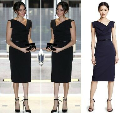 ac2891d6 New Black Halo Classic Jackie O Belted Eclipse Women Cocktail Party Dress