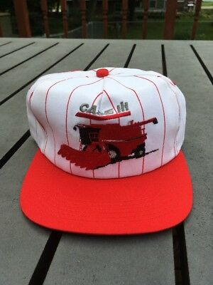 Vintage Case IH Combine Hat Made In The USA