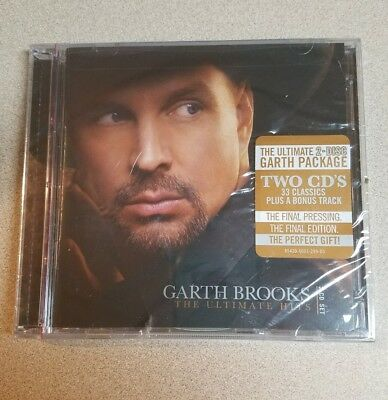 The Ultimate Hits by Garth Brooks Two Disc Set 33 plus bonus track