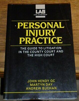 Personal Injury Practice: Guide to Litigation in ... by Buchan, Andrew Paperback