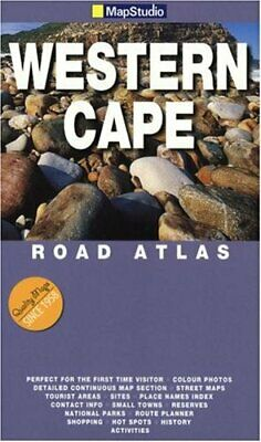Western Cape Road Atlas by Map Studio Paperback Book The Cheap Fast Free Post