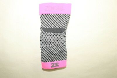 Zensah Single Plantar Fasciitis Compression Sleeve Sock With Arch Support - L