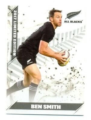 2017 ESP TLA All Blacks Limited edition white cards 5/25  Ben Smith 098/150