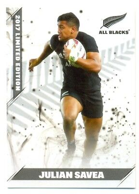 2017 ESP TLA All Blacks Limited edition white cards 13/25 Julian Savea 098/150