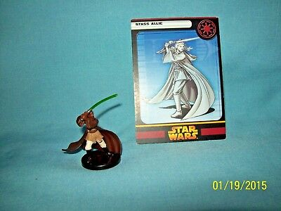 WotC Star Wars Miniatures Stass Allie, RotS 20/60, Republic, Rare