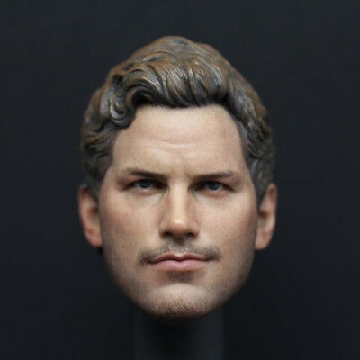"1/6 Scale Guardians of the Galaxy Star-Lord Head Sculpt for 12"" Male Figure Body"