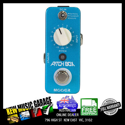 Mooer Pitch Box Harmony And Pitch Shifter Micro Digital Guitar Effects Pedal