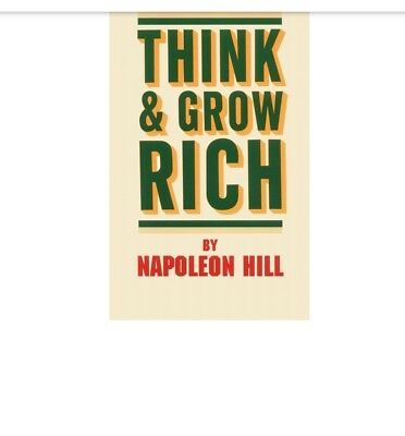 Think and Grow rich book in pdf by Napoleon hill ( not a hard copy)