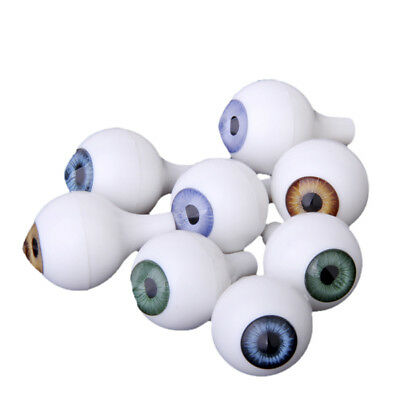 8PC Round Acrylic Doll Bear Animal Puppet Craft Plastic Safety Eyes Eyeball 22mm