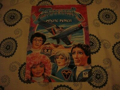 Terrahawks Mystic Pencil Book 1984 Excellent