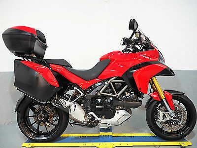2011 Ducati Multistrada 1200 s Touring,Termi, luggage,Finance ,free delivery p/x