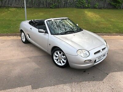 2001 Mg Mgf 2 Seater Convertable Ideal Track Car 70000 Miles Px Welcome