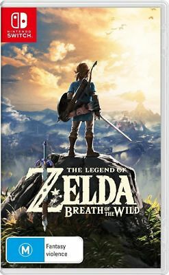 The Legend of Zelda Breath of the Wild -  Switch NEW