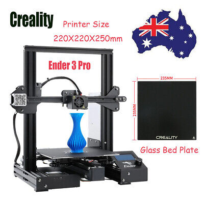 Creality 3D Ender 3 Pro 3D Printer 220X220X250mm MeanWell Power Glass Bed Gift