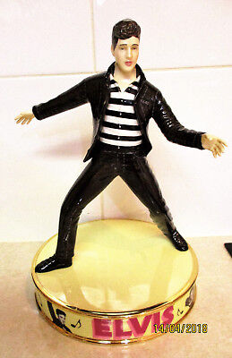 "ROYAL DOULTON Figurine  "" ELVIS ""  Jailhouse Rock   24cm High   Excellent Cond."