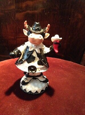 Bobble Head Dairy Cow Western Chili Pepper (PR) , Circus (advertising ? )