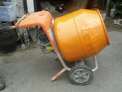 Belle  Cement Mixer electric 240 volt with stand