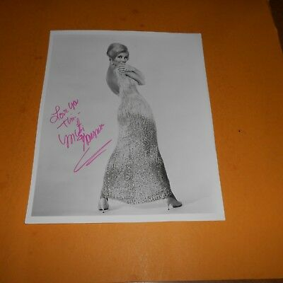 Mitzi Gaynor is an American actress, singer, and dancer Hand Signed Photo