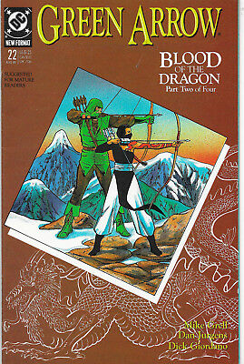 Green Arrow #22 DC Comics Mike Grell NM-