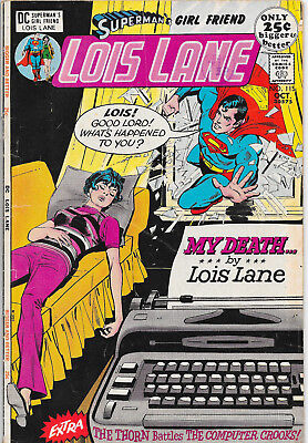 Superman's Girl Friend Lois Lane #115 Bronze Age DC Comics F