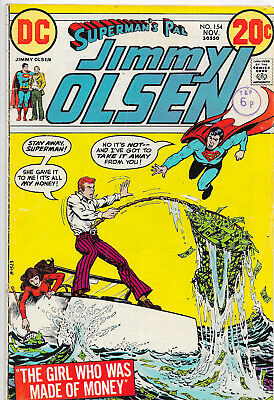 Superman's Pal Jimmy Olsen #154 Superman Bronze Age DC Comics F