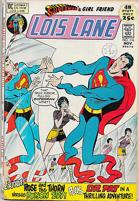 Superman's Girl Friend Lois Lane #116 Bronze Age DC Comics VG