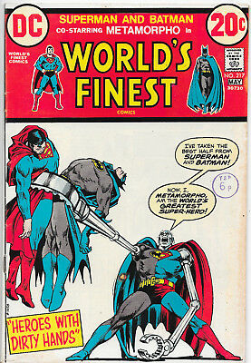 World's Finest #217 Superman Hawkman Bronze Age DC Comics Murphy Anderson F+