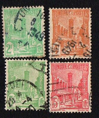 Tunisia. 1945 Land and People. Cancelled