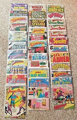 HUGE lot of 165+ RARE AND VINTAGE comic books Gold and Silver Ages