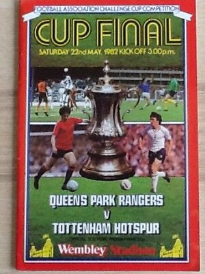 Queens Park Rangers v Tottenham Hotspur - 1982 FA Cup Final 22May82