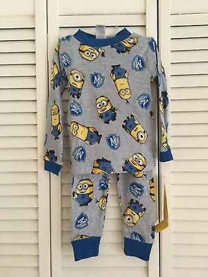 Despicable ME children boys PJ size 4 New