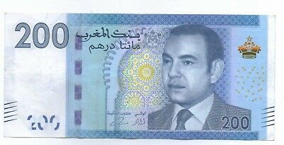 MOROCCO - 200 Dirham Banknote (Circulated) 06864475