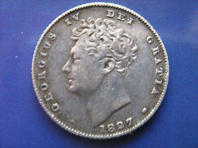 1827 George VI 4th Sixpence 6d - Condition As Pictured