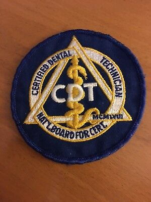 CDT . Patch ,  FREE SHIPPING !!!