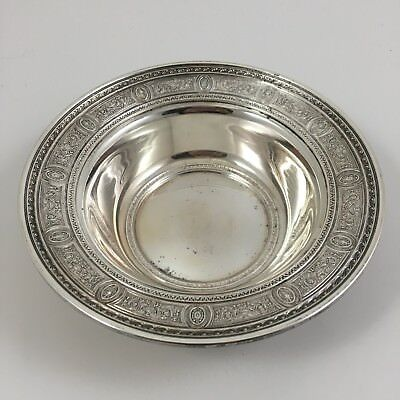 "Antique International Sterling Silver Wedgwood 6"" Bon Bon Bowl"