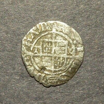 Medieval Silver Coin Crusader Cross 1200's Antique Lot Europe Great Britain (+)
