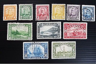 Scroll used PERFECT set, very well centered stamps HCV ...