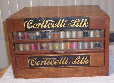 Corticelli Thread Cabinet  3 Drawer  365 Spools  included