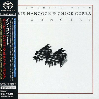SACD An Evening With Herbie Hancock & Chick Corea In Concert SRGS4522 Japan ver.